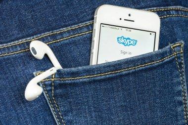 Skype App on iPhone SE