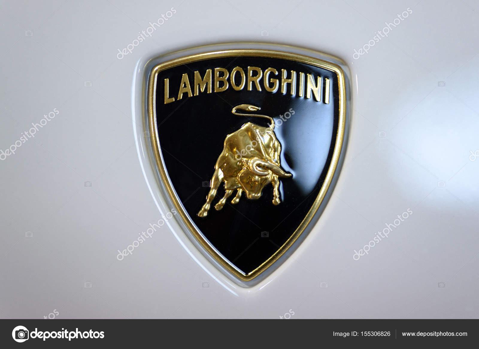 Lamborghini Car Sign Stock Editorial Photo C Wdnet 155306826