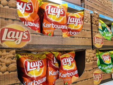 Lay's Chips on store shelves