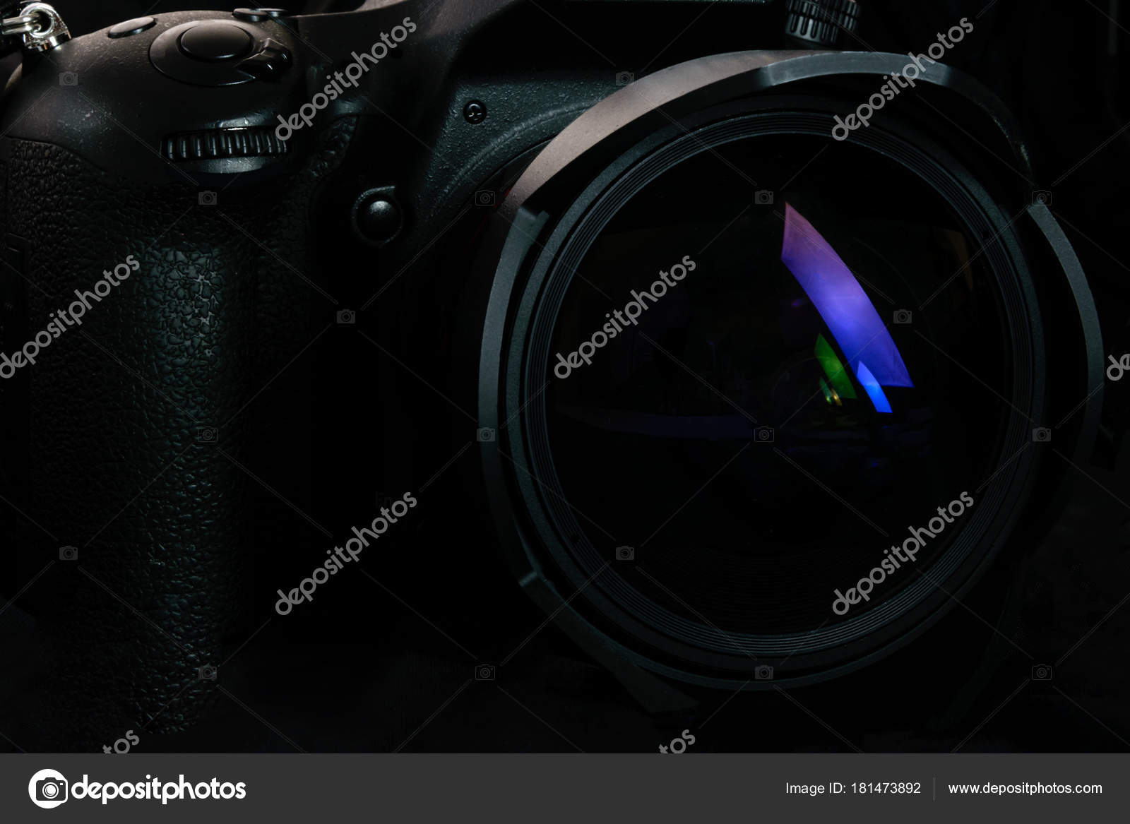 Professional Dslr Camera Background Stock Photo Wdnet 181473892