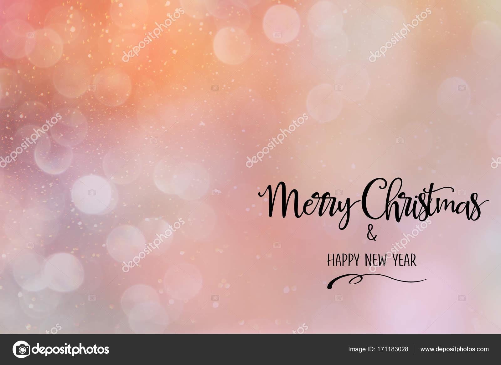 Citaten Kerst En Nieuwjaar : Roze koraal kerst abstracte achtergrond met citaat u stockfoto