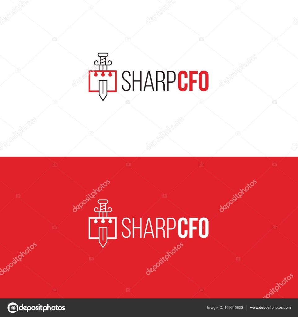 Buchhaltung-Service Logo Vorlage. Finanzielle Company emblem ...