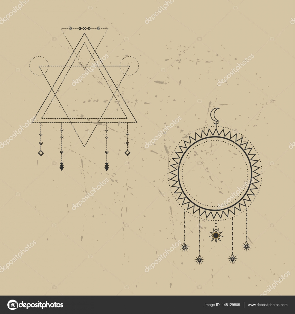 Sacred geometry signs set of symbols and elements alchemy set of symbols and elements alchemy religion philosophy spirituality hipster symbols and elements geometric shapes vector by kssss buycottarizona