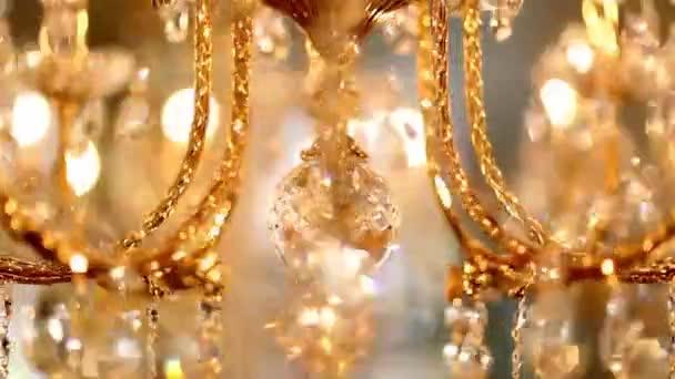 Lampadario lampada luce applique oro cristallo vetro evidenziare