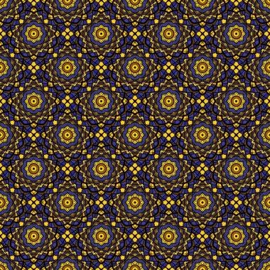 Colorful mosaic seamless pattern