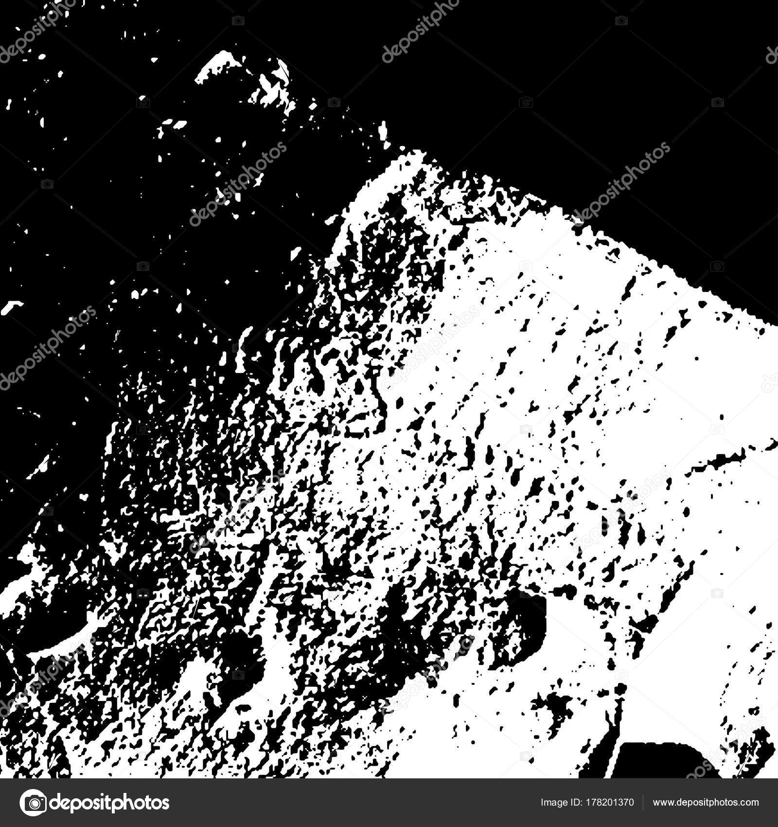 Grunge black textures on white background. Template for business ...