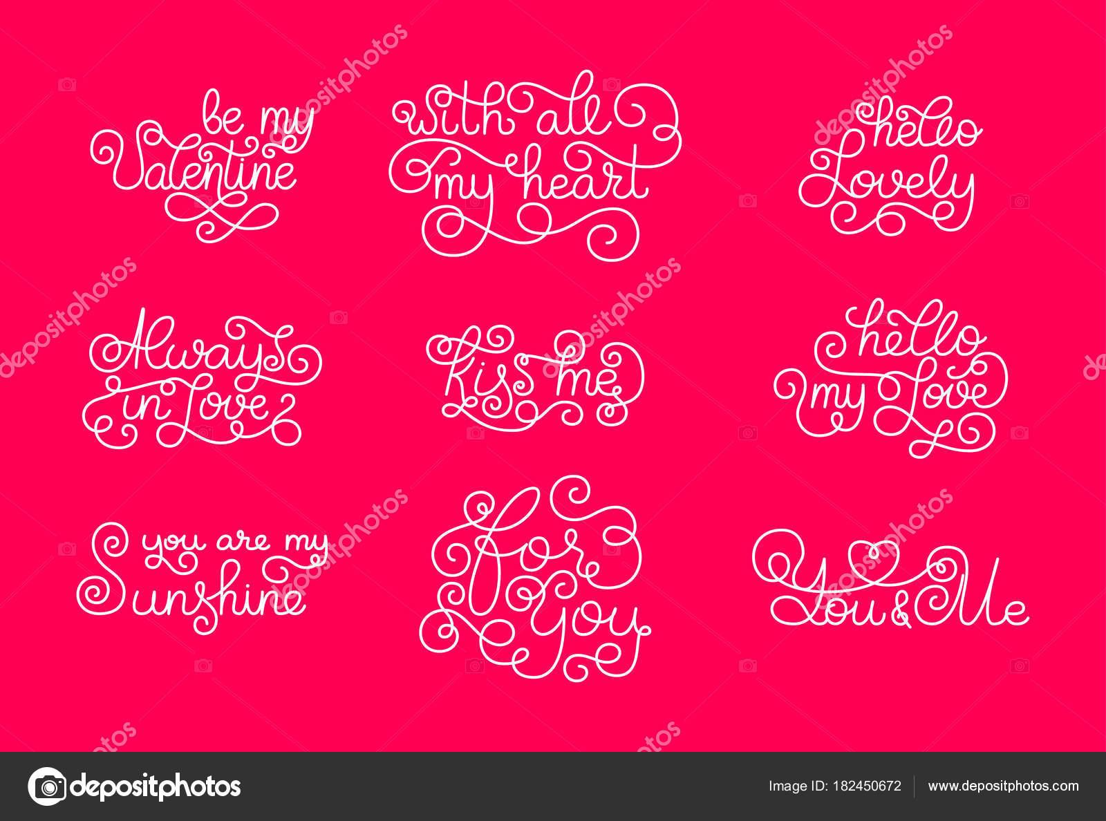 Plantillas Para Adornar Cuadernos Día De San Valentín