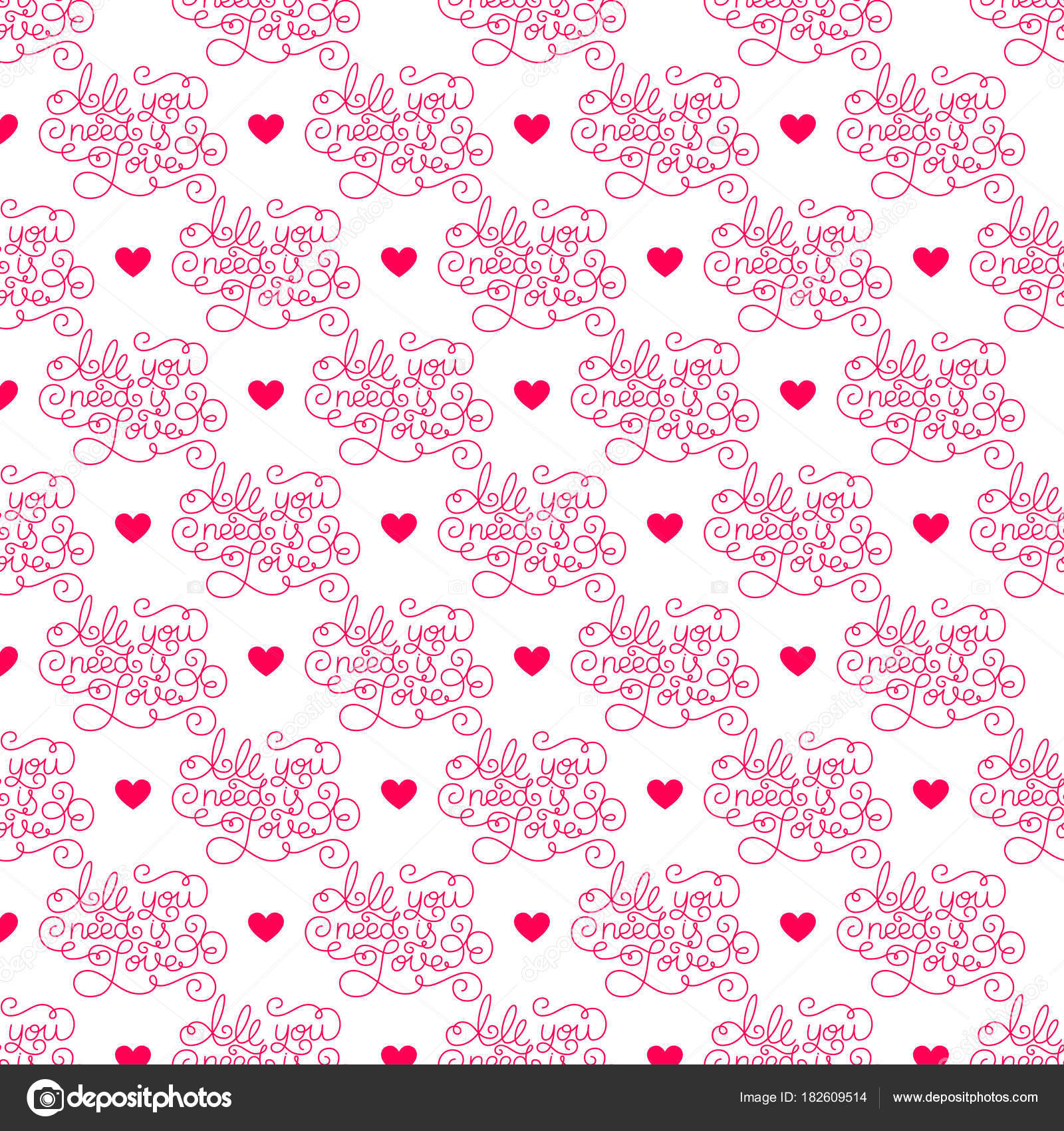 Valentines day romantic phrases seamless pattern background romantic phrases seamless pattern background template for a business card banner colourmoves Images