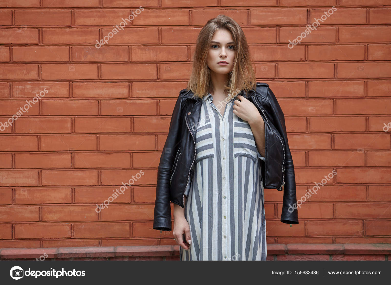 Streetwear Elegante Zapatillas En Deporte Joven Hermosa De Negro wgXHqn8