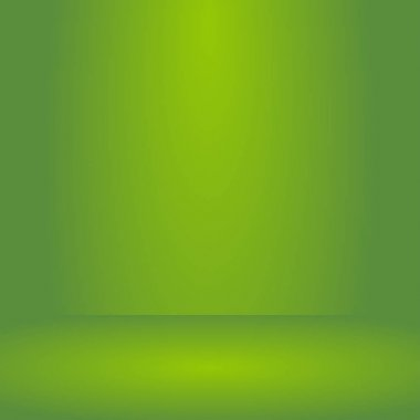 ,Empty vivid lighting green studio room background ,Template mock up for display or montage of product,Business backdrop