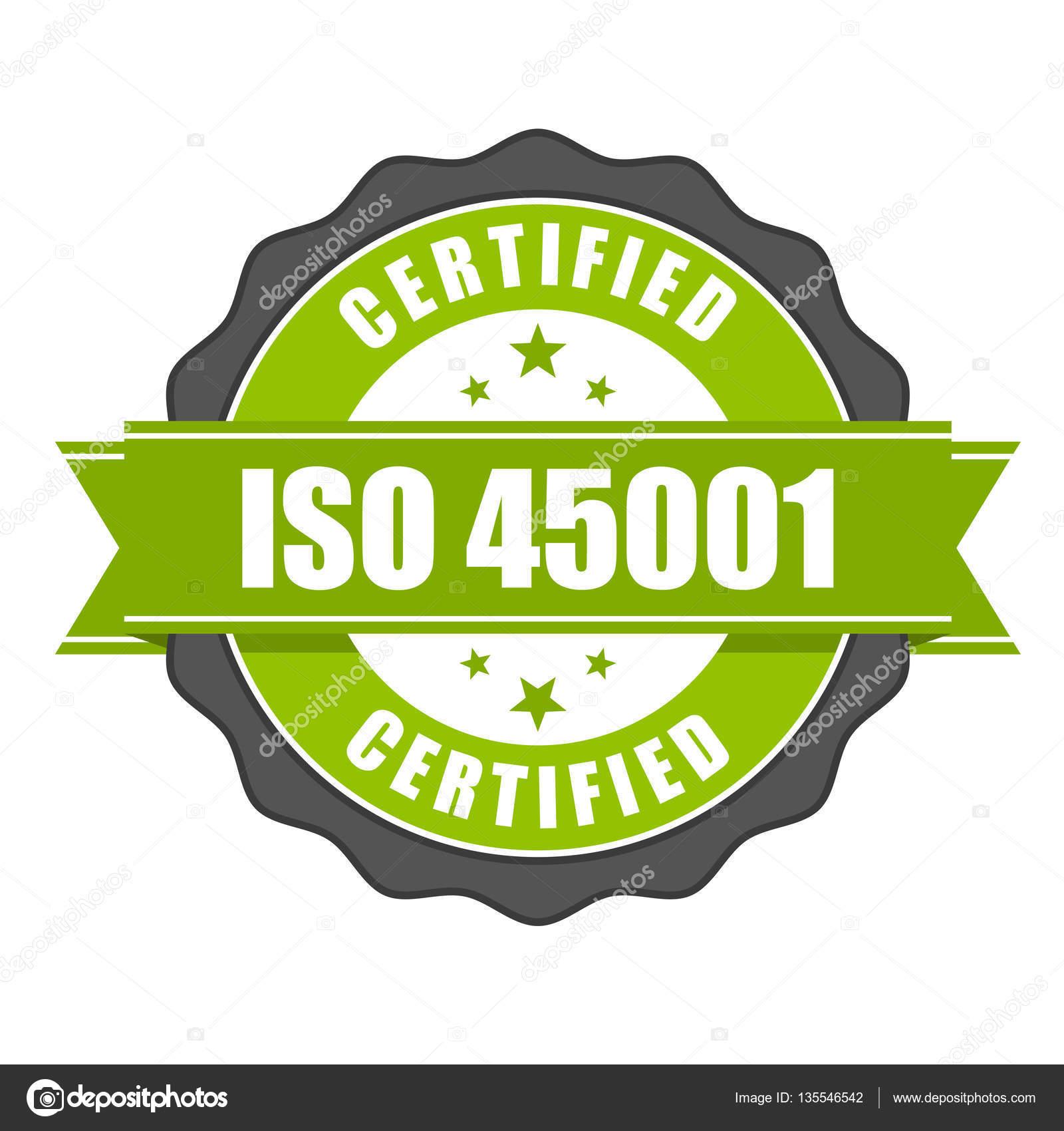Iso 45001 標準証明書バッジ - ...