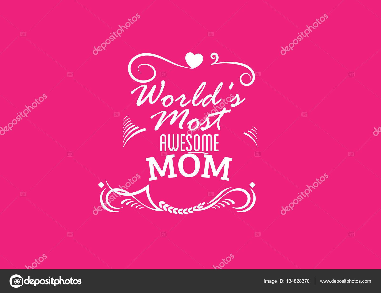 Ma Meilleure Citation Maman Image Vectorielle Uguhime