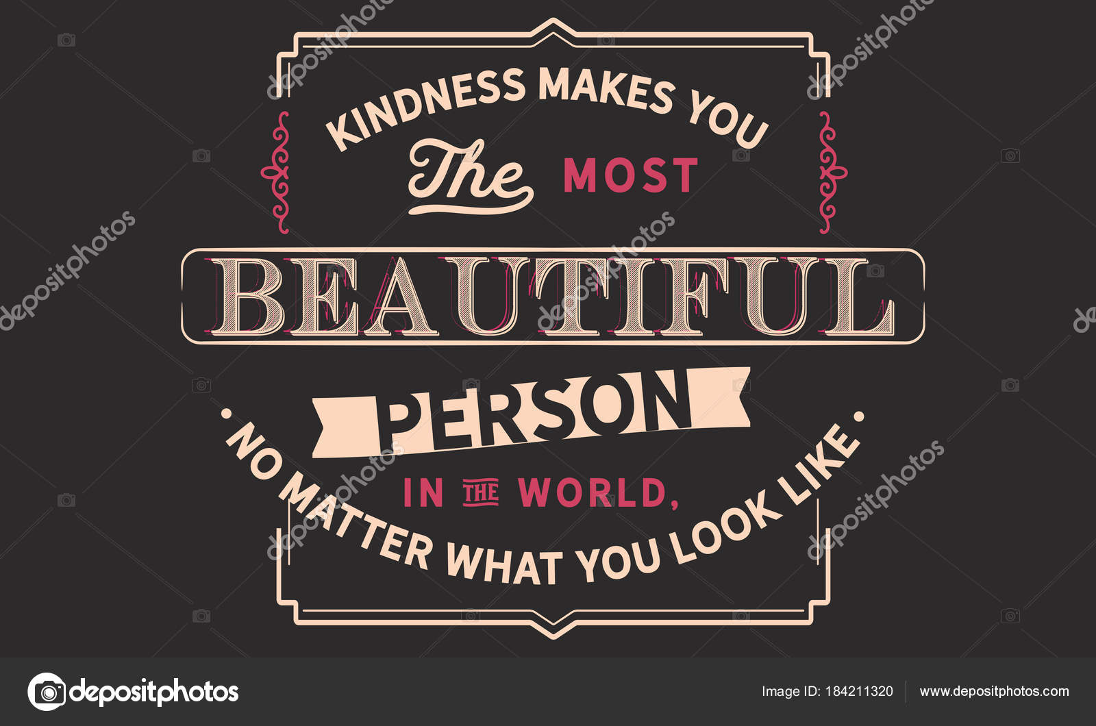 Freundlichkeit Macht Sie Den Schönsten Mensch Auf Der Welt