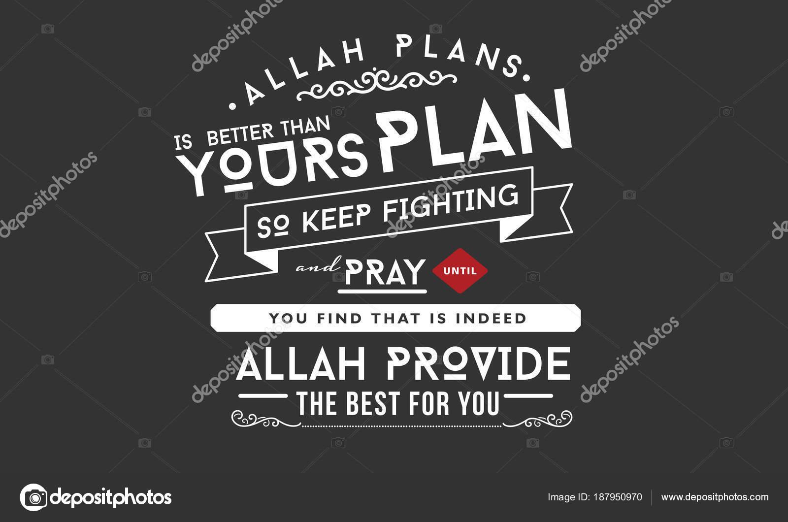 Imágenes Personas Orando Con Frases Planes Allah Mejor