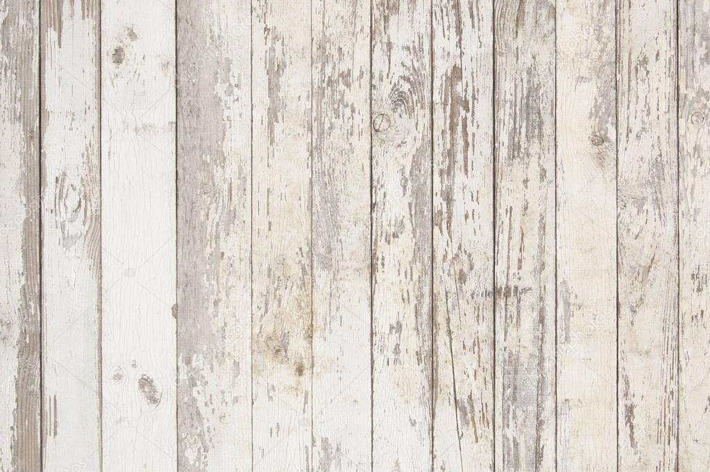 Ordinaire White Old Wooden Fence. Wood Palisade Background. Planks Texture U2014 Stock  Photo