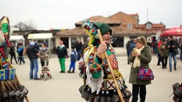 Kukeri - maškarní festival v Rakovski, Bulharsko