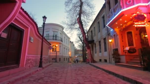 Walking around the Old Town of Plovdiv