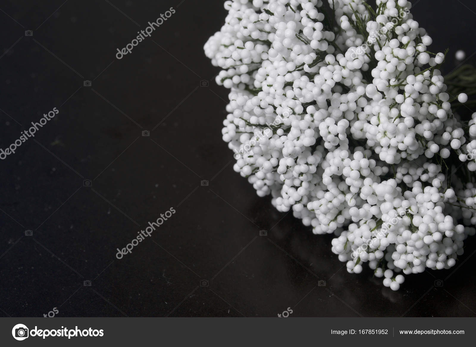 Ornaments For Celebrations Bouquet Of Artificial Flowers From White