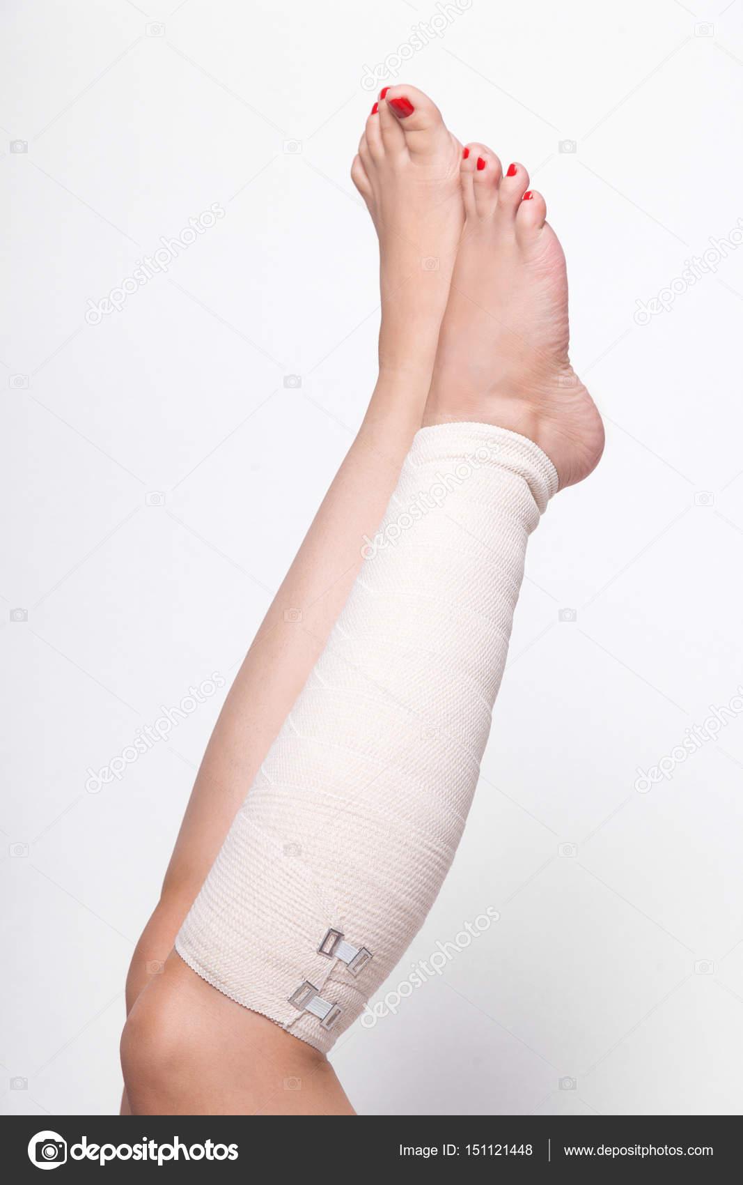 elastisk binda fot