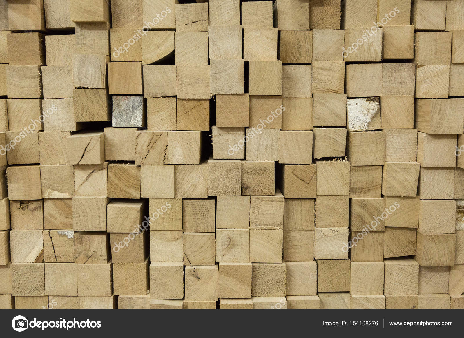 Heap of wooden bricks — Stock Photo © fotoevent stock #154108276