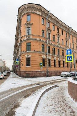 Old residential building Saint Petersburg