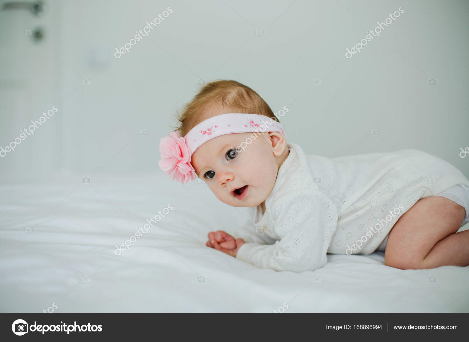 cute baby girl — stock photo © iatanni #168896994