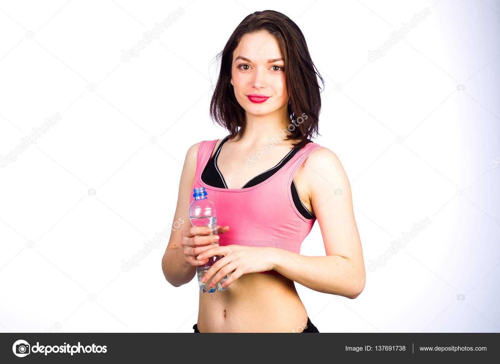 Deselezionare versare acqua fuori dalla bottiglia spruzzata nel