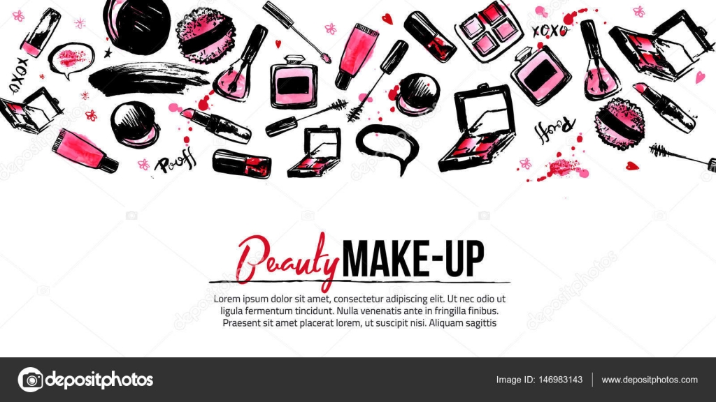 Site banner template for makeup artist studio site header business site banner template for makeup artist studio site header business card brochure and cheaphphosting Images