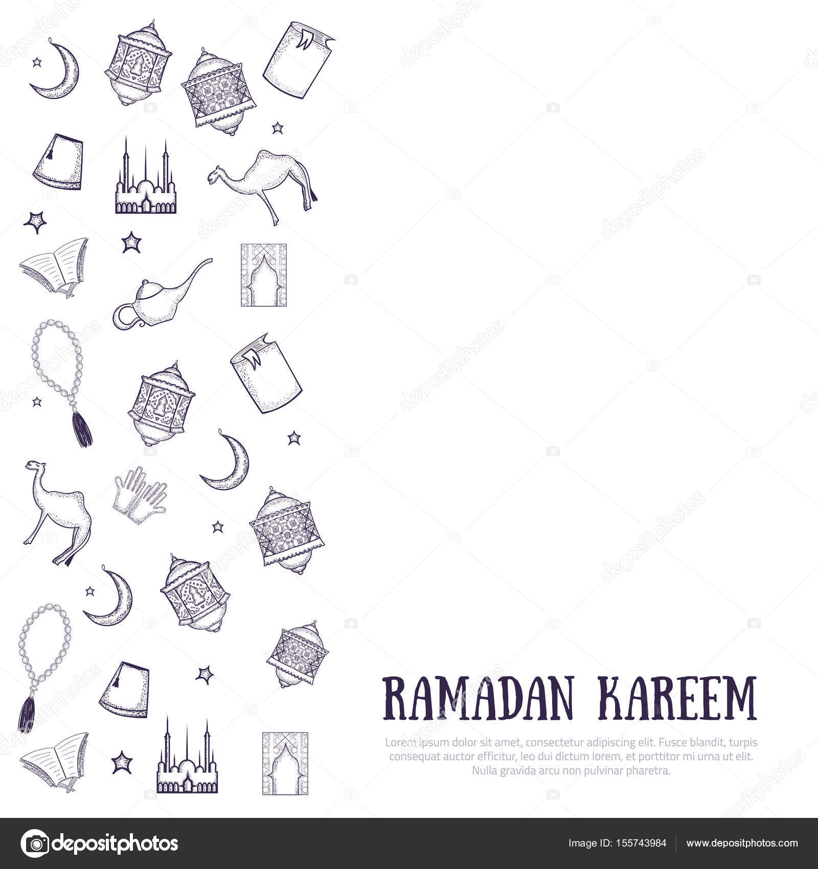 image about Ramadan Cards Printable named Ramadan lantern template printable Printable minimalistic