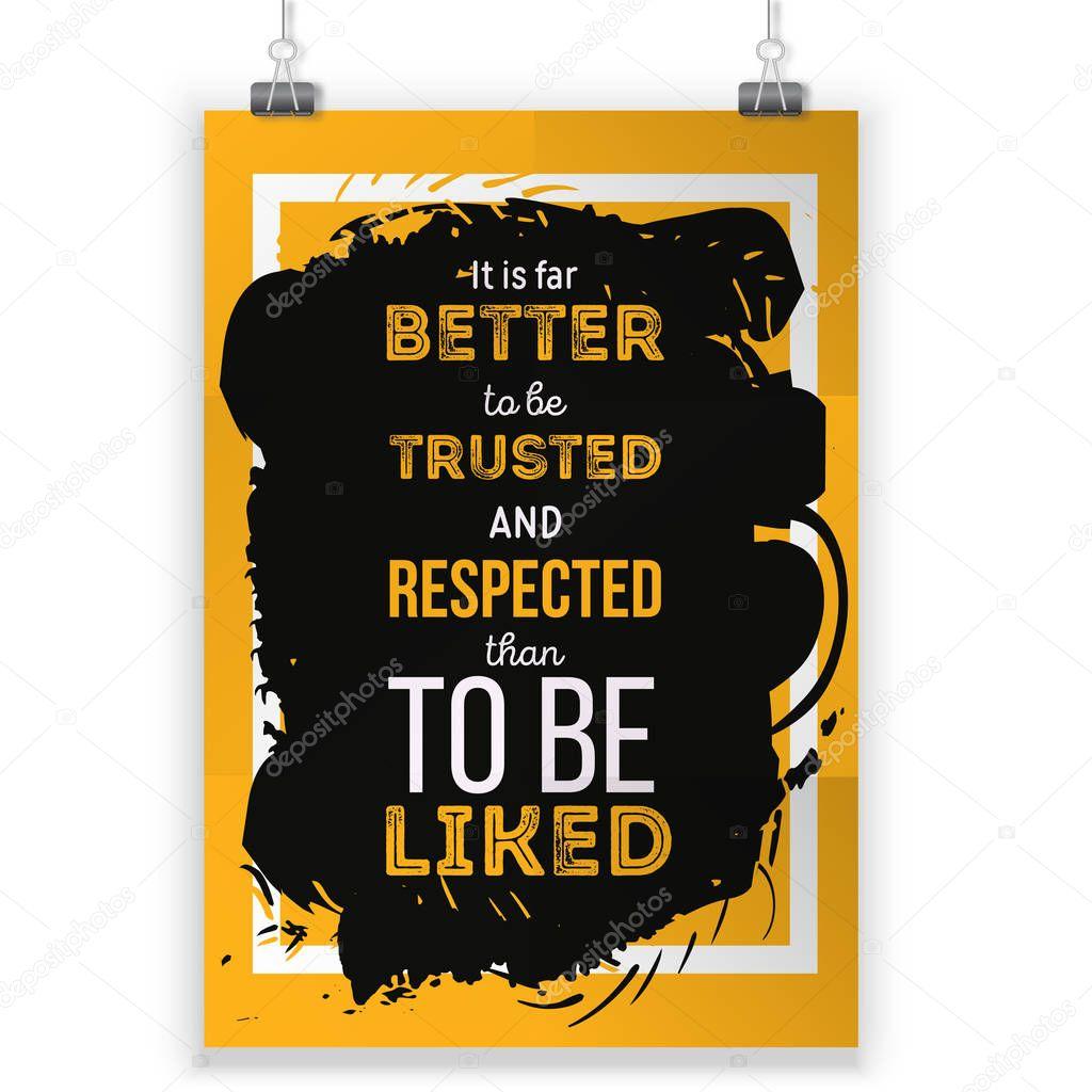 Citaten En Gezegden Over Respect : Vector citaat over respect vector motiverend en inspirerend