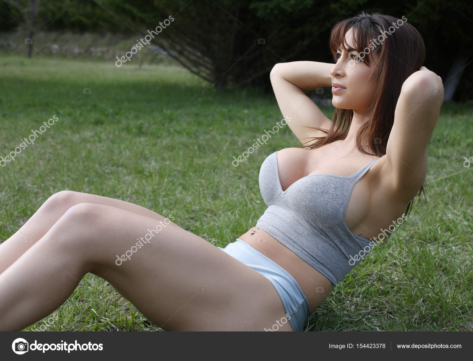 Sexy girls outdoor