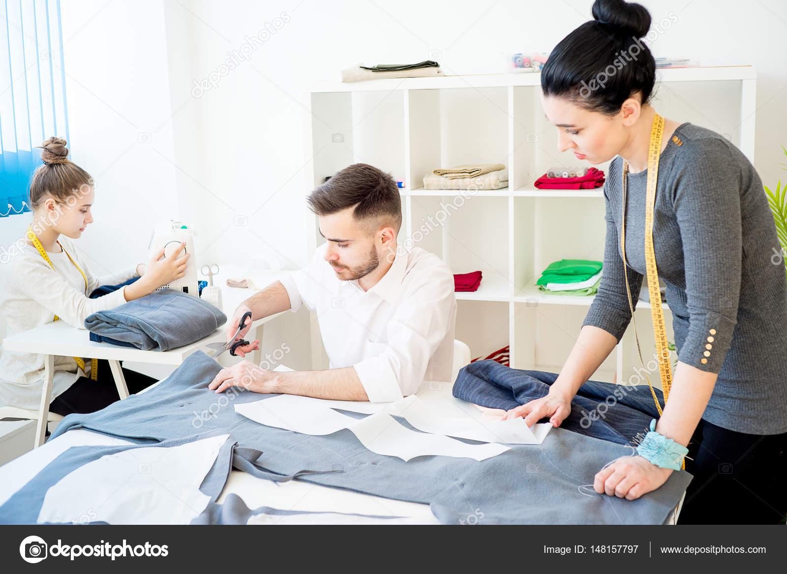 fashion designers at work \u2014 stock photo © lenanichizhenova 148157797fashion designers at work \u2014 stock photo