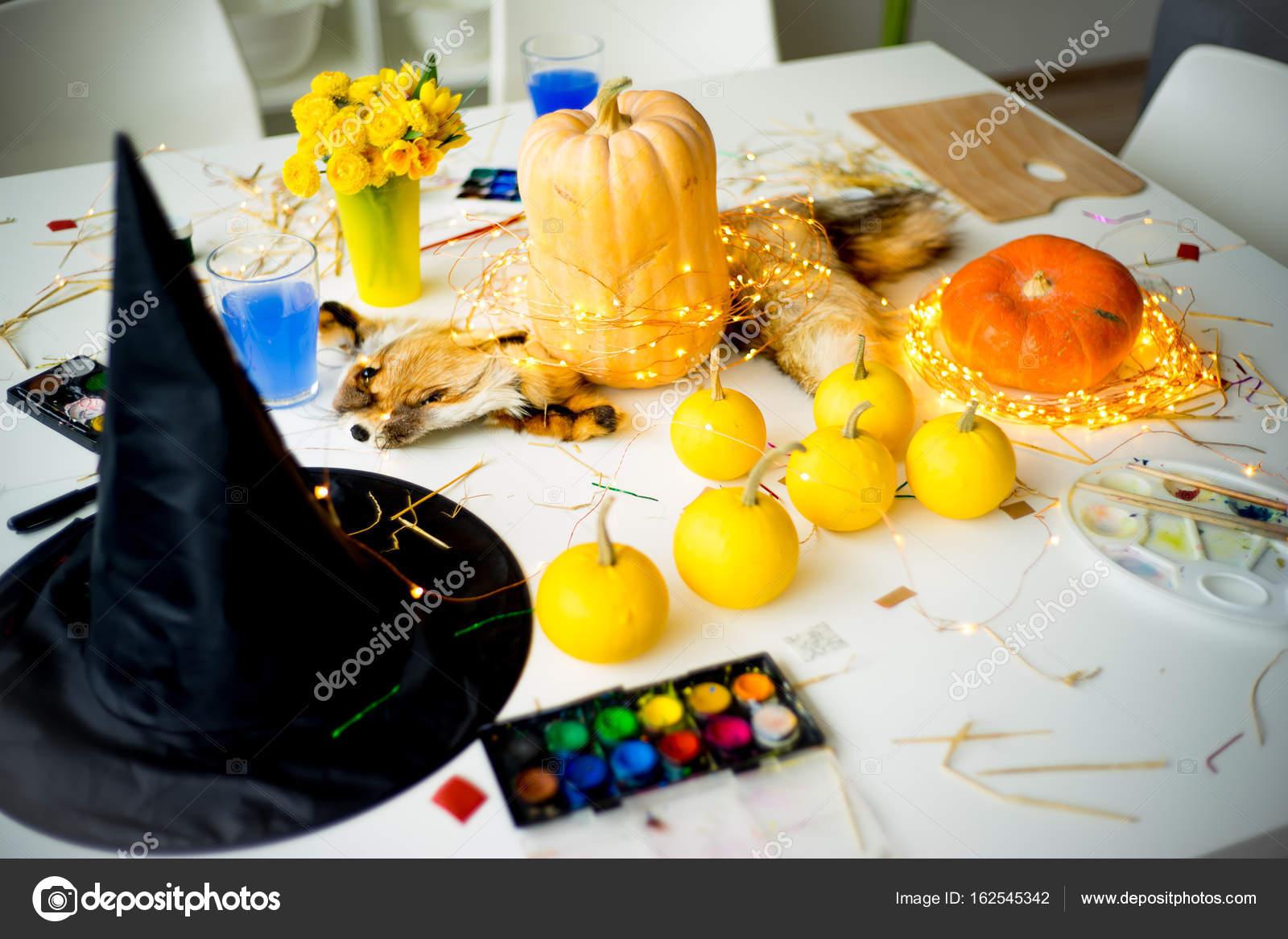 Things For Halloween Stock Photo Lenanichizhenova 162545342