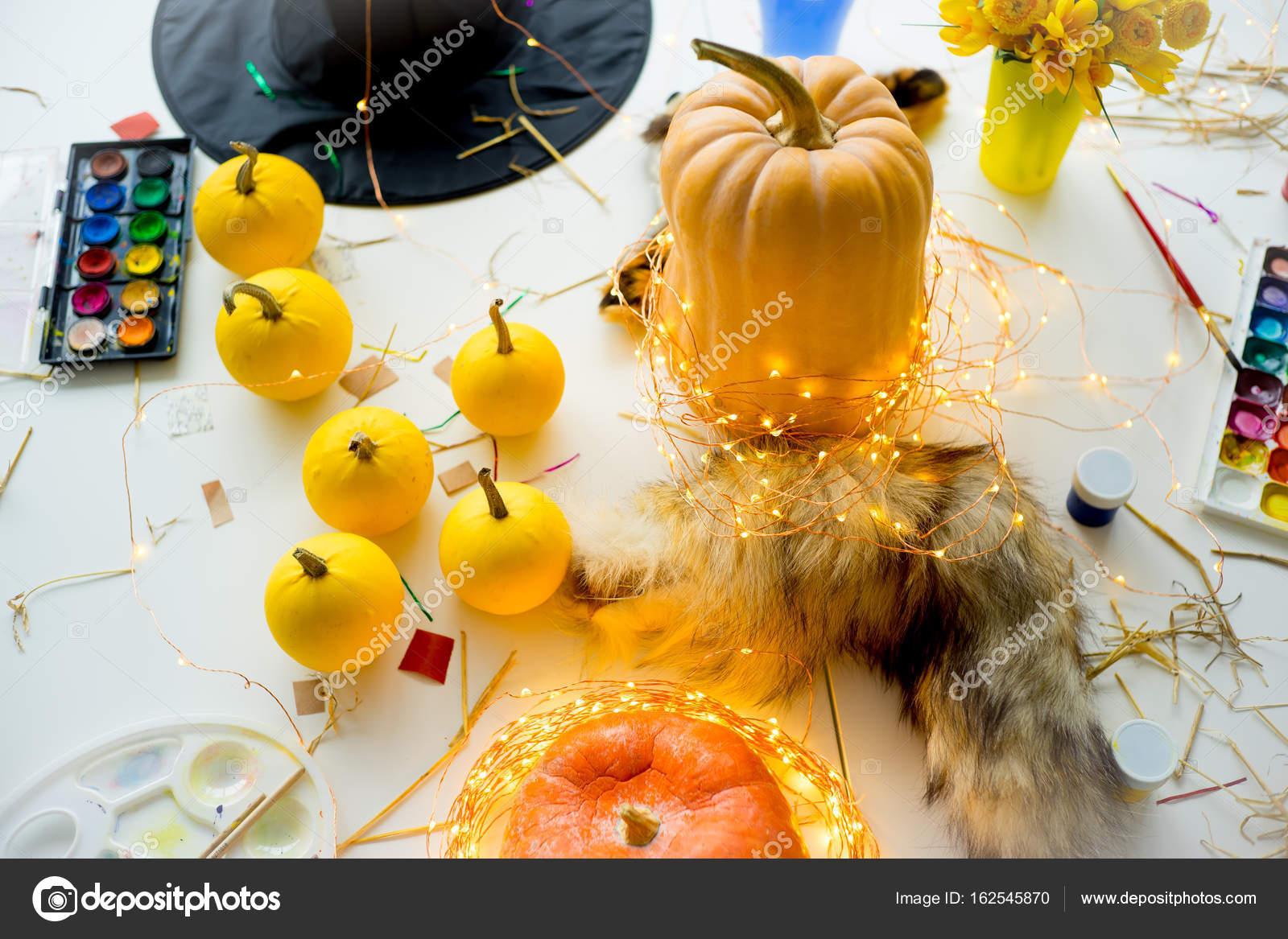Cose Per Halloween Foto Stock Lenanichizhenova 162545870