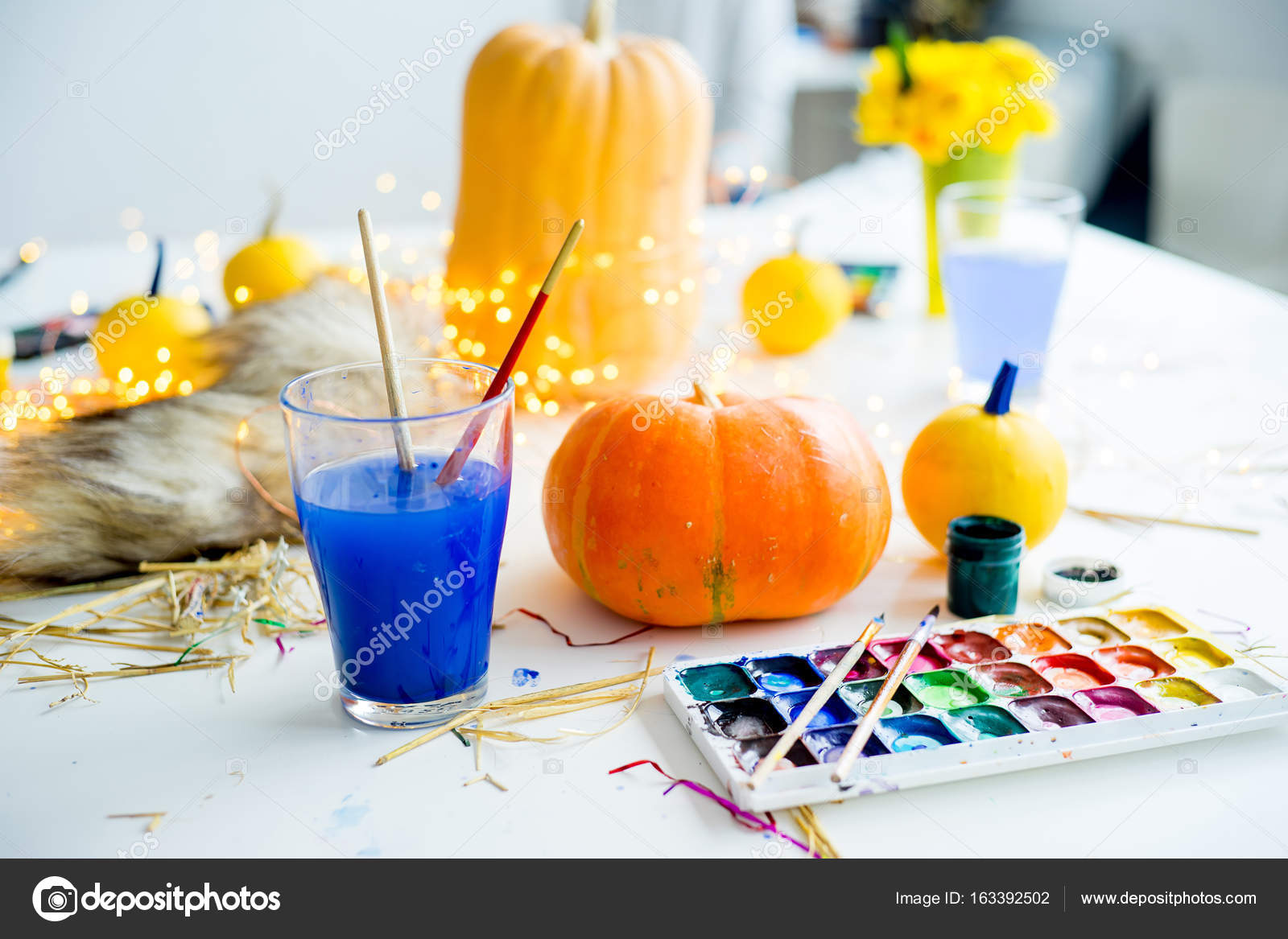 Cose Per Halloween Foto Stock Lenanichizhenova 163392502