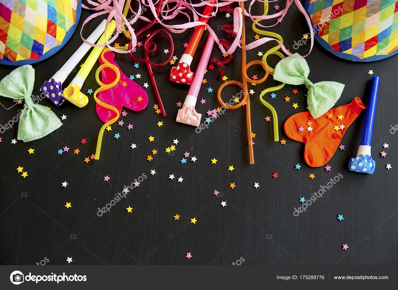 Verjaardag Partij Dingen Stockfoto C Lenanichizhenova 175288776