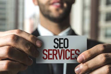 paper with sign seo services