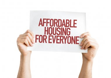 Sign affordable housing for everyone