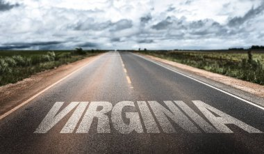 virginia sign on road
