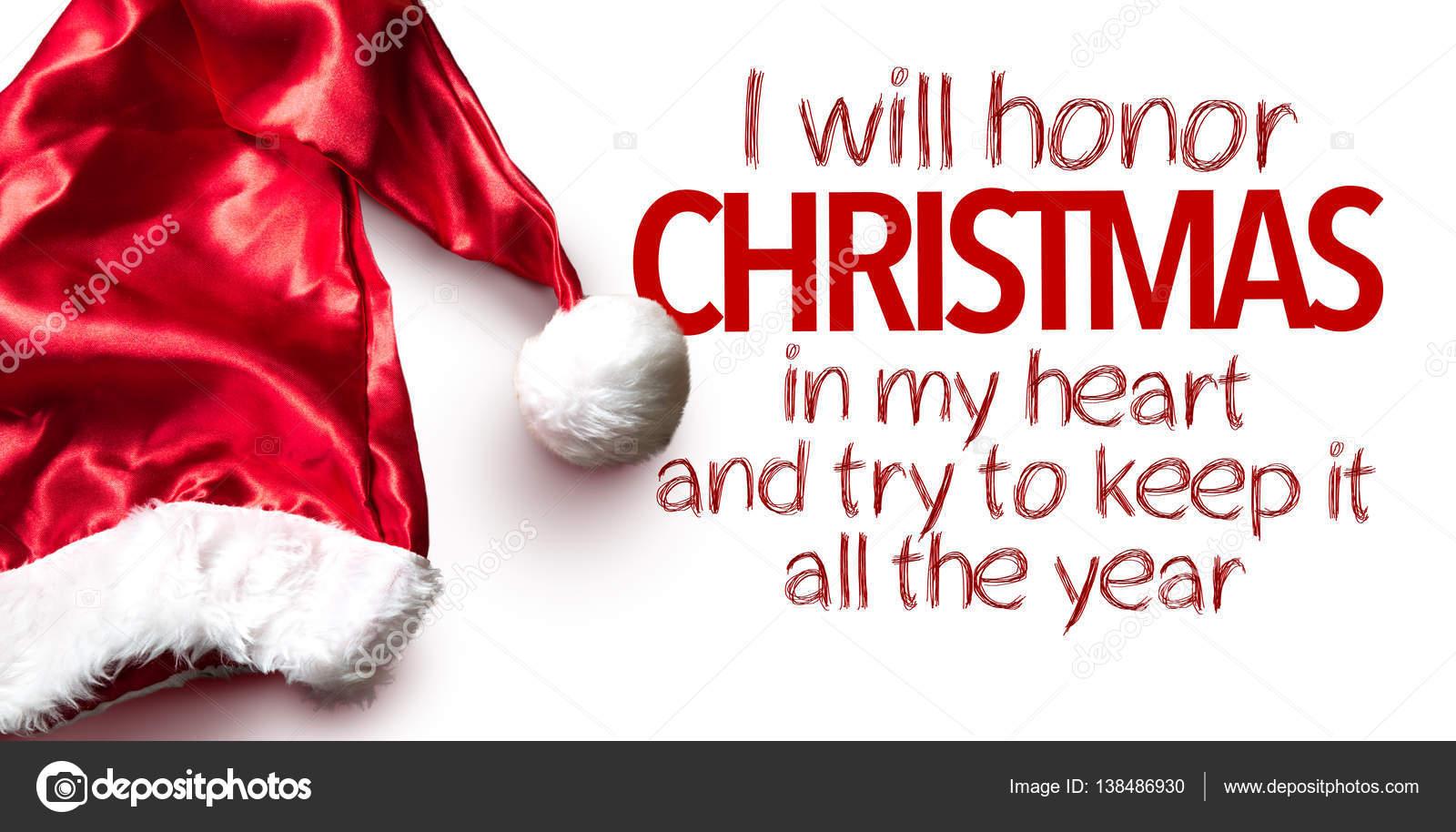 sign i will honor christmas — Stock Photo © gustavofrazao #138486930