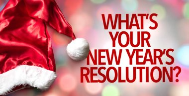 whats your new years resolutions?