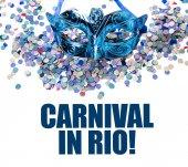 Značka karneval v Riu