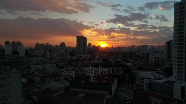 Naplemente alatt Sao Paulo városában