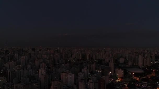 sao paulo bei Nacht, Brasilien