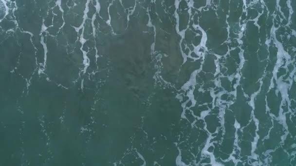 Felülnézet hullámok