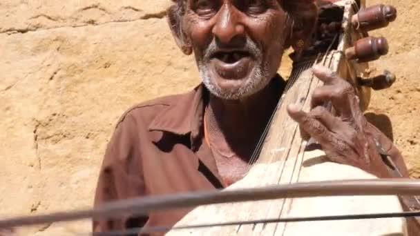 Portrait of Tradicional Rajasthani Man in Jaisalmer, India