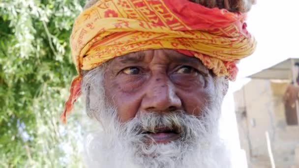 Portrait of a Indian in Jaisalmer