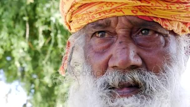 Portrait of a Indian in Jaisalmer