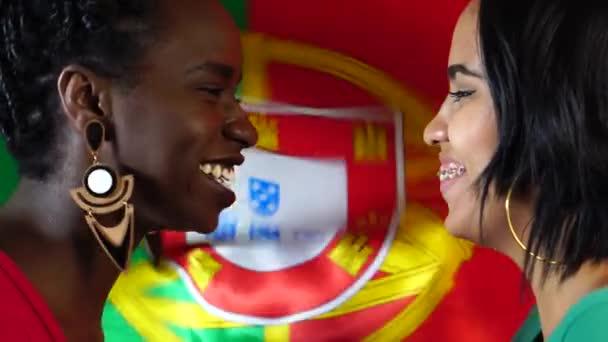 Portugál meg ünnepli Portugália lobogója