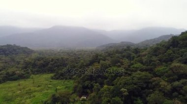 Forest Landscape and Mountains in a Cloudy day in Brazil